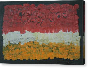 Abstract Number 6 Canvas Print by James Johnson