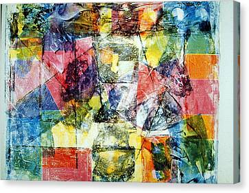 Abstract Painting Canvas Print by David Deak