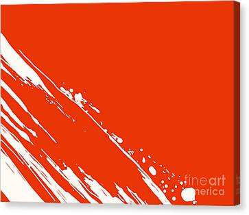 Abstract Swipe Canvas Print by Pixel Chimp