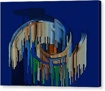 Abstracto 89478947894799 Canvas Print by Rod Saavedra-Ferrere