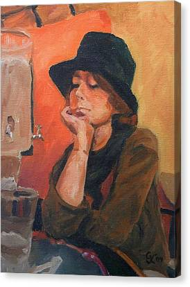 Absynthe Canvas Print by George Kramer