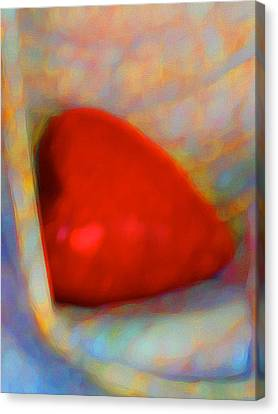 Canvas Print featuring the digital art Abundant Love by Richard Laeton