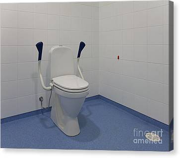 Accessible Toilet Canvas Print by Jaak Nilson