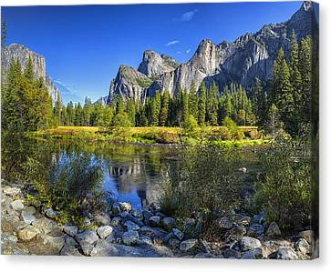 Adams Country Canvas Print by Stephen Campbell