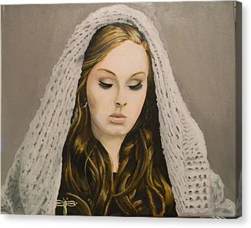 Adele Canvas Print by Eric Barich