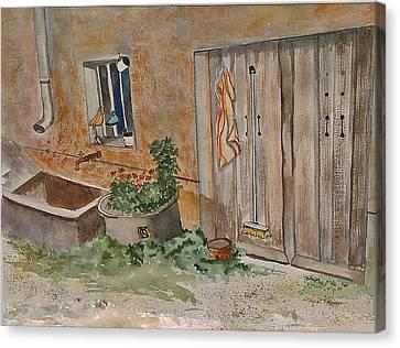 Adeline's Door Canvas Print by Heidi Patricio-Nadon