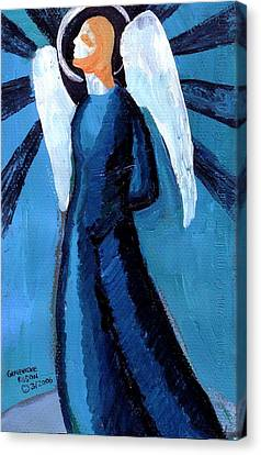 Adrongenous Angel Canvas Print by Genevieve Esson