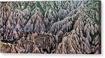 Aerial View Landscape Canvas Print by Julio López Saguar