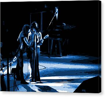 Aerosmith In Spokane 12a Canvas Print by Ben Upham