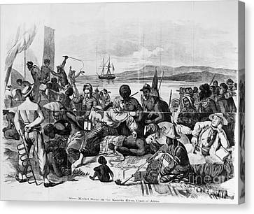 Africa: Slave Trade, C1840 Canvas Print by Granger