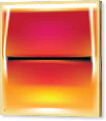After Rothko Canvas Print by Gary Grayson