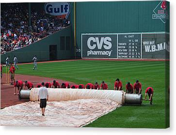 After The Rain Delay Canvas Print by Mike Martin