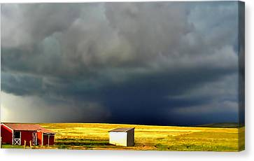 Afternoon Storm Canvas Print by Ellen Heaverlo