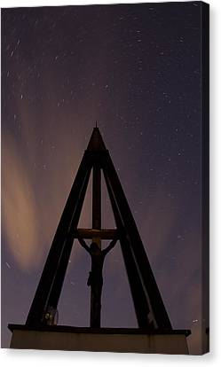 Against The Stars Canvas Print by Ian Middleton