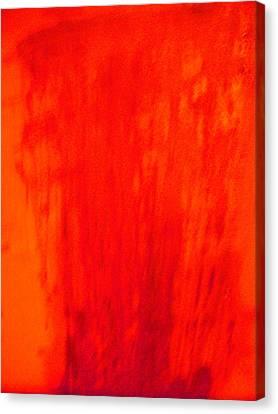 Aganju -the Volcano Canvas Print by Duwayne Washington
