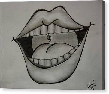 Ahhh... Canvas Print by K Walker