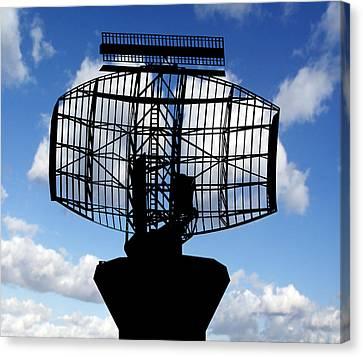 Air Traffic Control Radar Canvas Print by Victor De Schwanberg