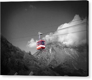 Air Trolley Canvas Print by Naxart Studio