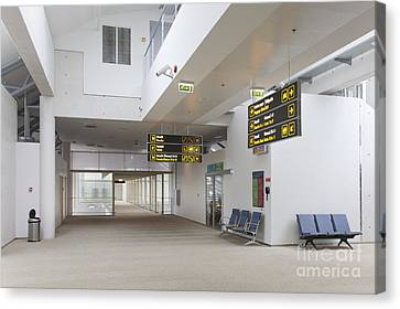Airport Concourse Canvas Print by Jaak Nilson