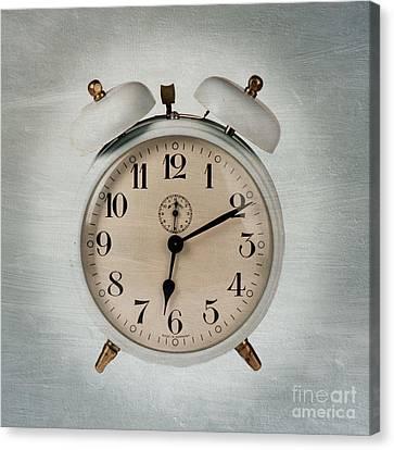 Alarm Clock Canvas Print by Bernard Jaubert
