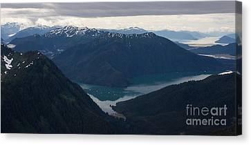 Alaska Coastal Serenity Canvas Print by Mike Reid