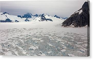 Alaska Frontier Canvas Print by Mike Reid