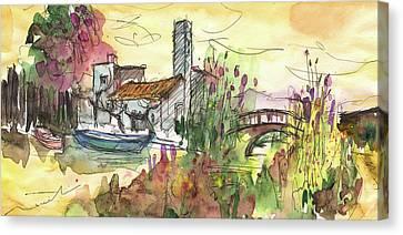 Albufera De Valencia 25 Canvas Print by Miki De Goodaboom