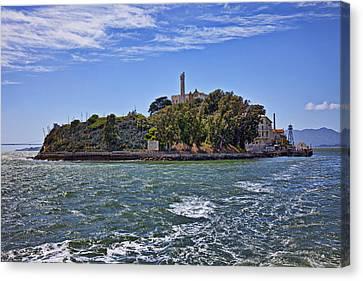 Alcatraz Island San Francisco Canvas Print by Garry Gay