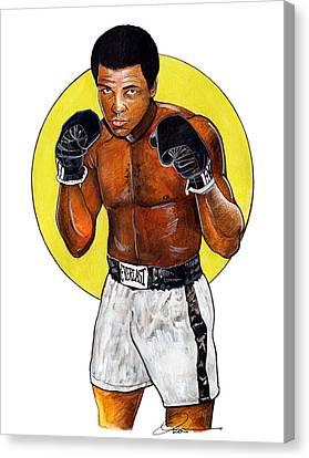 Ali Canvas Print by Dave Olsen