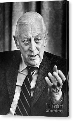 Alistair Cooke (1908-2004) Canvas Print by Granger
