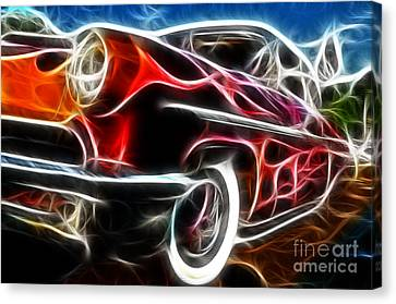 All American Hot Rod Canvas Print by Paul Ward
