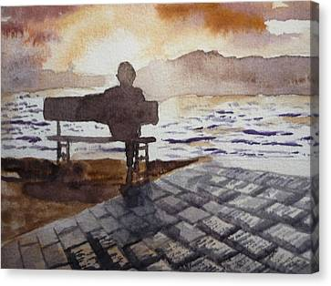 Alone... Canvas Print by Vuong Anh Tuan