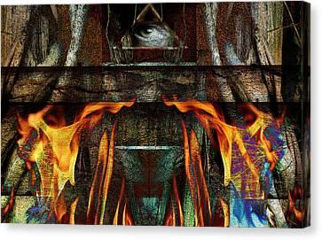 Altar Canvas Print by Janet Kearns