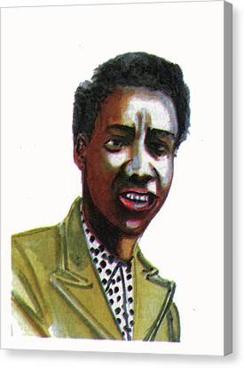 Althea Gibson Canvas Print by Emmanuel Baliyanga