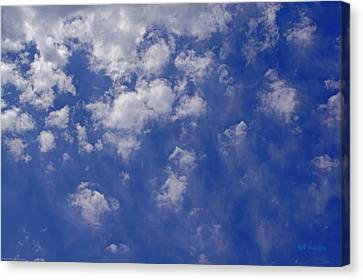 Alto Cumulus With Ice Canvas Print by Mick Anderson