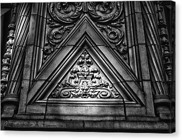 Alwyn Court Building Detail 13 Canvas Print by Val Black Russian Tourchin