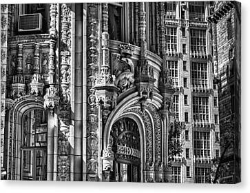 Alwyn Court Building Detail 26 Canvas Print by Val Black Russian Tourchin