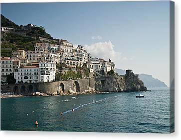 Amalfi Point Canvas Print by Jim Chamberlain