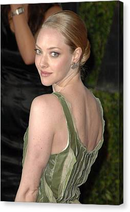 Amanda Seyfried At Arrivals For Vanity Canvas Print by Everett