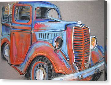 Amarillo Truck Canvas Print by Barbara Richert