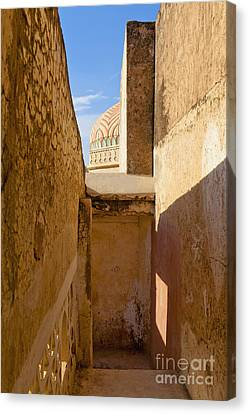 Amber Fort Stairway Canvas Print by Inti St. Clair