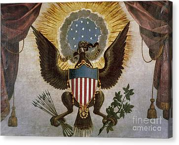 America - Great Seal Canvas Print by Granger