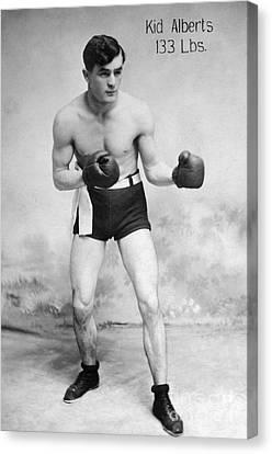 American Boxer, C1912 Canvas Print by Granger