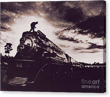 American Freedom Train Canvas Print by Jim Wright