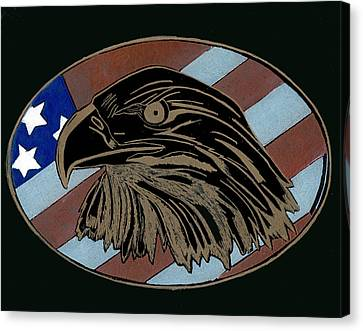 American Independence Day Canvas Print by Jim Ross