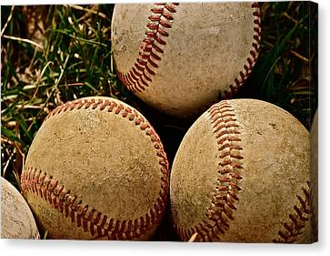 America's Pastime Canvas Print by Bill Owen
