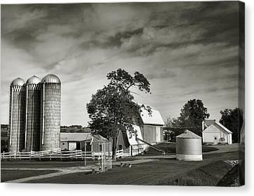 Amish Farmstead II Canvas Print by Steven Ainsworth