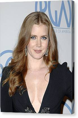 Amy Adams In Attendance For 22nd Annual Canvas Print by Everett