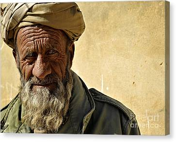 An Afghan Elder From Zabul Province Canvas Print by Stocktrek Images