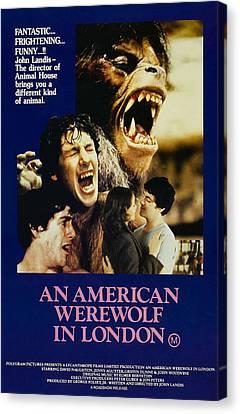An American Werewolf In London, David Canvas Print by Everett